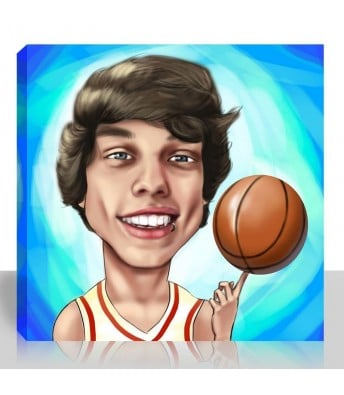 Sporty Caricature