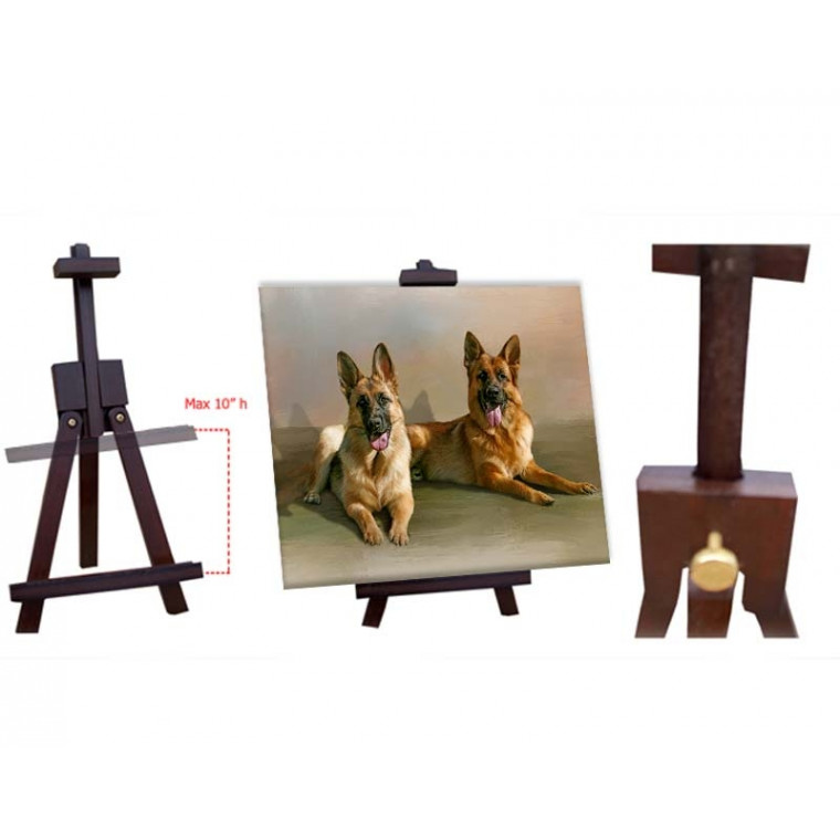 Wooden Table Easel for 8x10