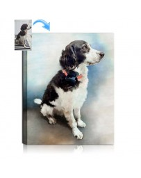 Dog Photo to Watercolor Style Art