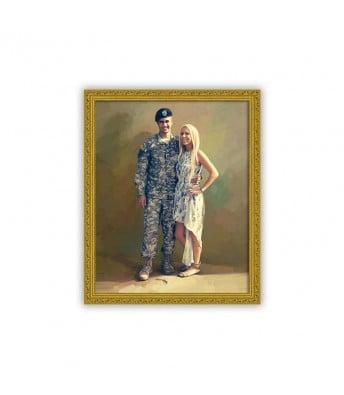Military Portrait Painting