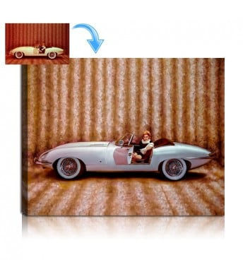 Custom Car Portrait Painting