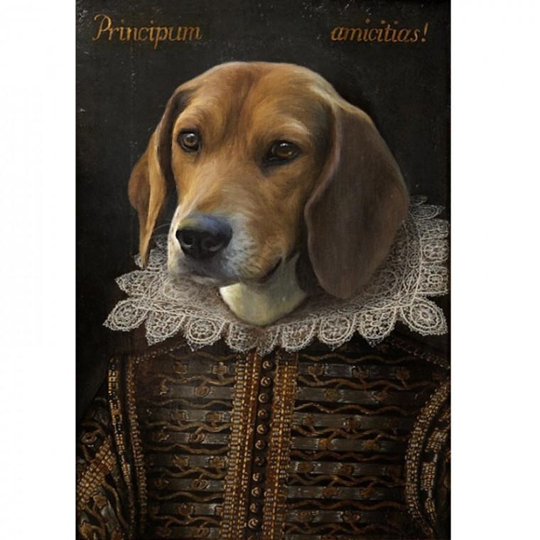Shakespearean Pet Painting