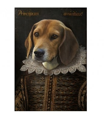 Shakespearean Pet Painting