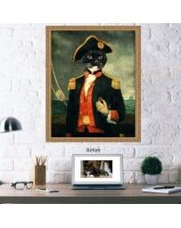 Admiral Pet Portrait