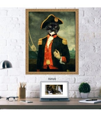 Admiral Pet Portrait