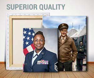 Military Portraits on Canvas