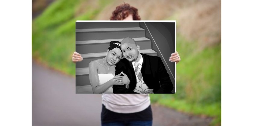 Your Canvas Prints in Black and White