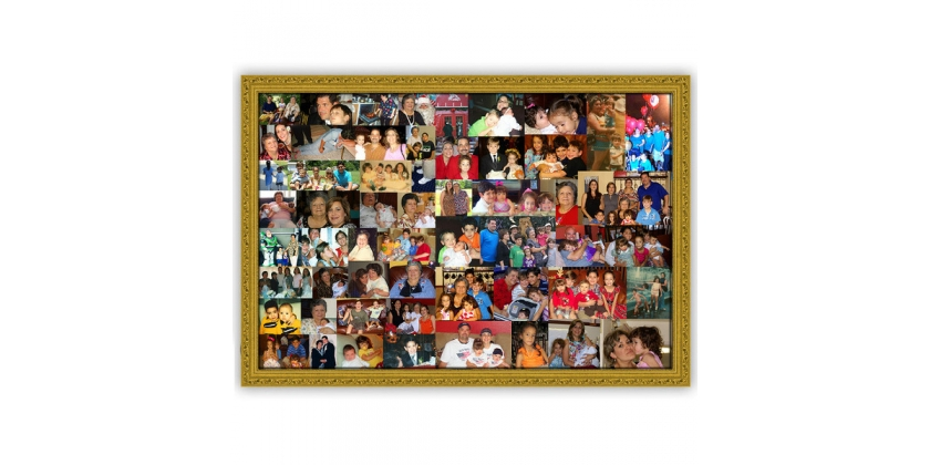 Picture Canvas Collage: A Great Idea Using Multiple Photos